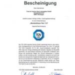TÜV-geprüfte Sicherheit für Bauherren