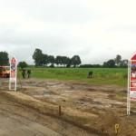 Stichtag im Baugebiet Schwartow