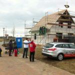 Richtfest beim Hausbau in Utecht bei Lübeck gefeiert